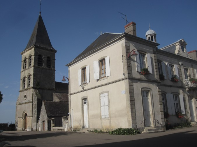 L'Église and Mairie (church and town hall) of St. Révérien