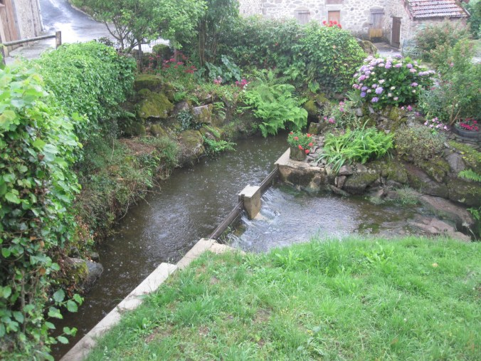 Millstream of the Moulin de Châtelus
