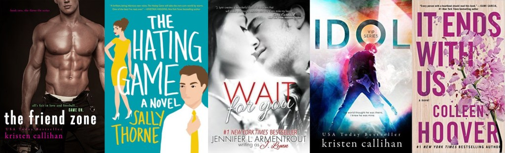 New Adult Books 1