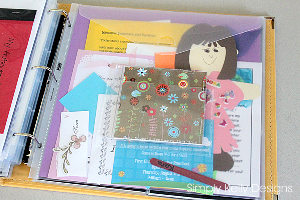 Tips And A Peek Into A Finished Preschool Scrapbook