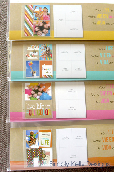 Summer Scrapbooks By Kids - Simply Kelly Designs