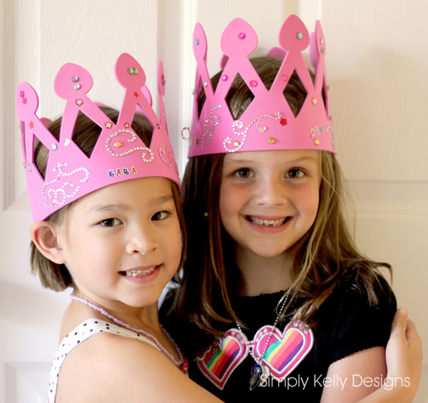 Creating Royalty with Foam Crowns by Simply Kelly Designs