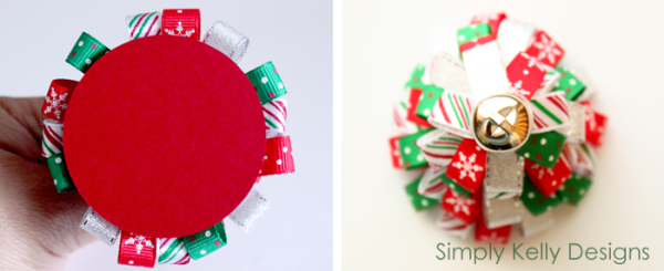 Ribbon Tree Ornament by Simply Kelly Designs