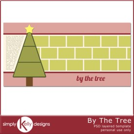 By The Tree Template by Simply Kelly Designs