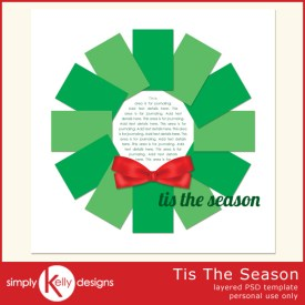 Tis The Season Template by Simply Kelly Designs