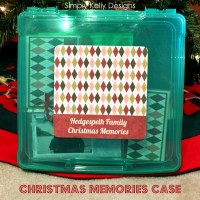Easy Christmas Memories Case