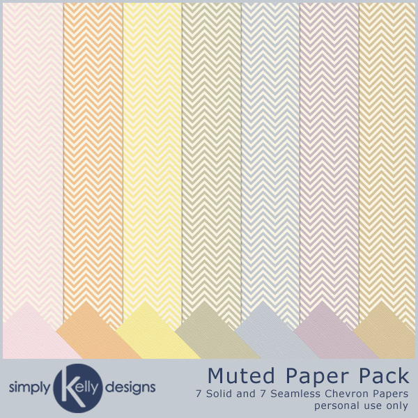 Muted Paper Pack by Simply Kelly Designs
