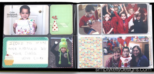 Birthday or Retirement Album Gift For A Teacher by Simply Kelly Designs