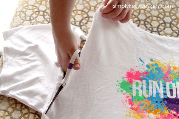 Tips For Cutting A Race Shirt by Simply Kelly Designs