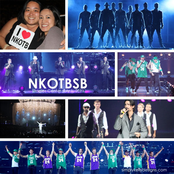 NKOTBSB concert photos by Simply Kelly Designs #NKOTB #BSB #concert #StaplesCenter