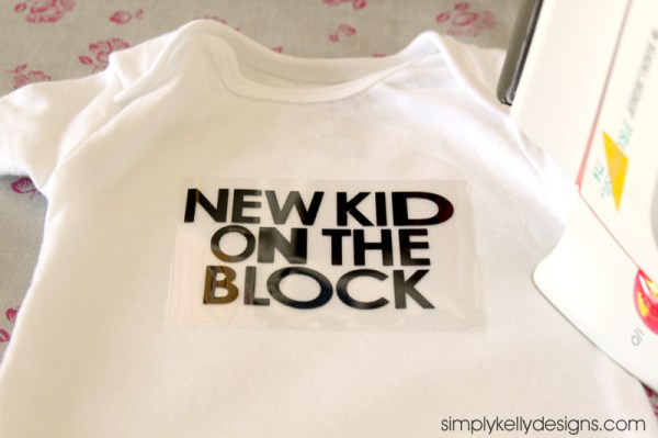 DIY New Kid On The Block Onesie by Simply Kelly Designs #NKOTB