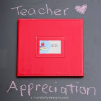 Teacher Appreciation Project Life Mini Album