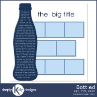 Bottled Template by Simply Kelly Designs