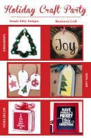 Holiday Craft Party Wrap Up by Simply Kelly Designs