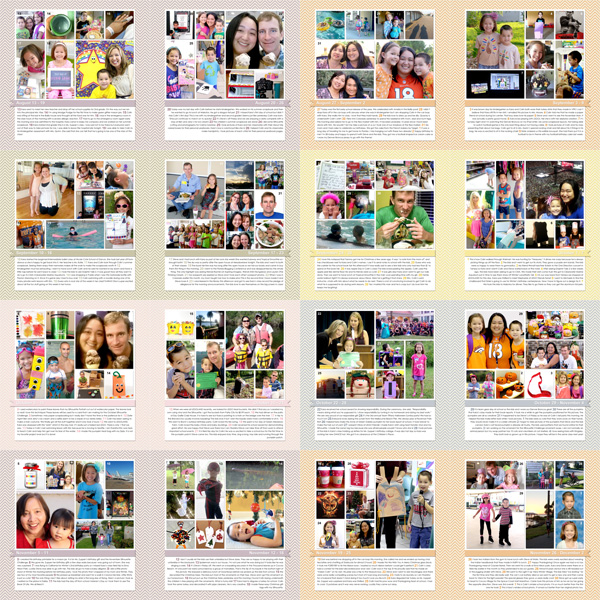 All 2014 Project 365 Layouts  by Simply Kelly Designs #Project365