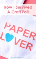 How I Survived A Craft Fail