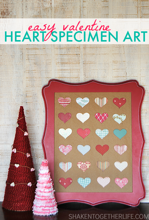 Valentine Heart Speciment Art | Shaken Together