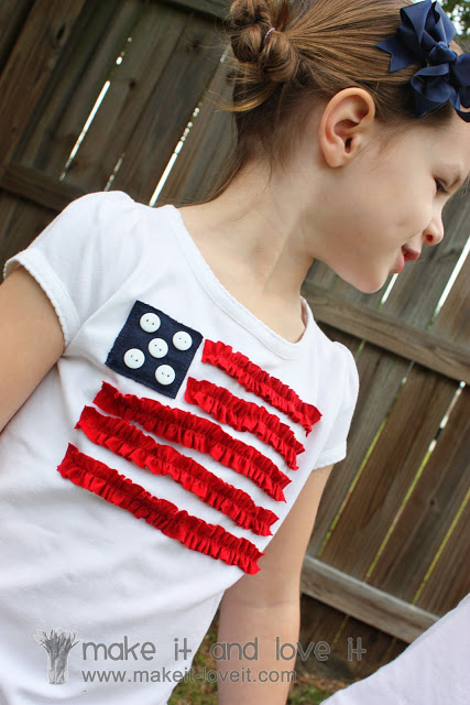 4th of July Shirt by Make It & Love It