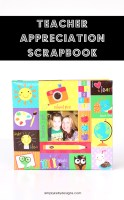 Teacher Appreciation Scrapbooks