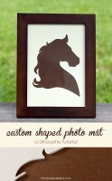 How To Create A Custom Shaped Photo Mat