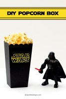DIY Star Wars Popcorn Box With Free Cut File