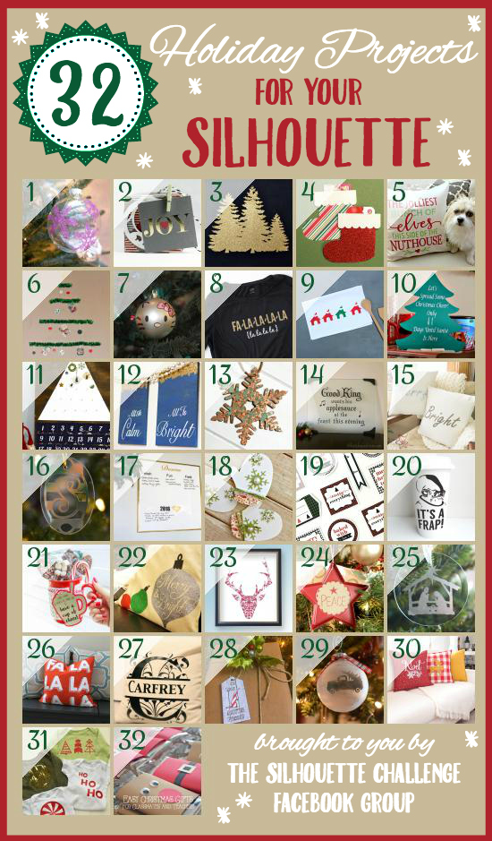 32 Holiday Projects For Your Silhouette