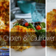 Green Chili Chicken and Cauliflower Enchiladas - low carb and perfect for a keto diet!