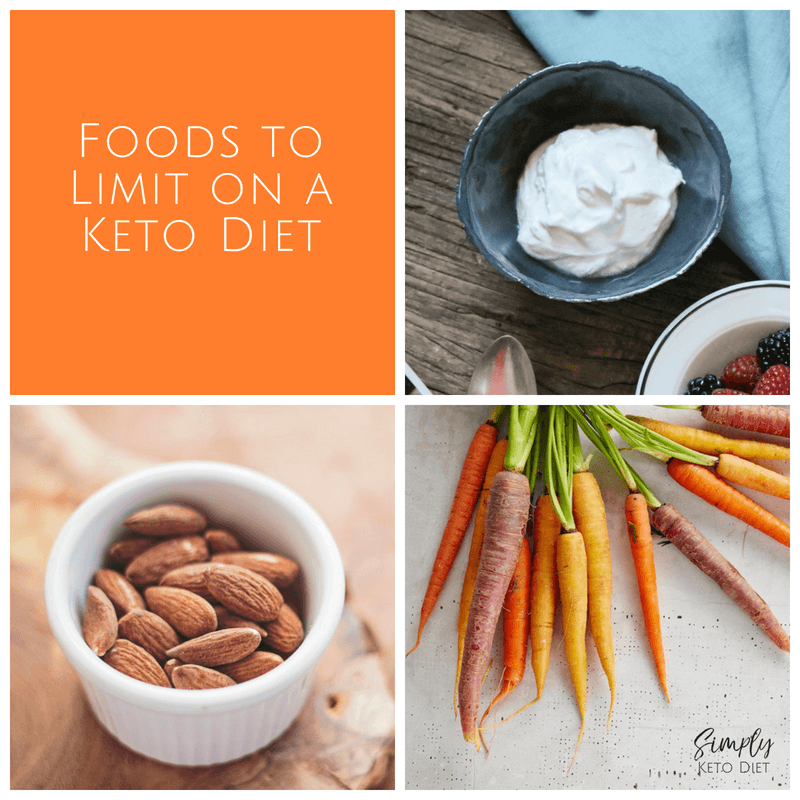 Keto Foods to Limit