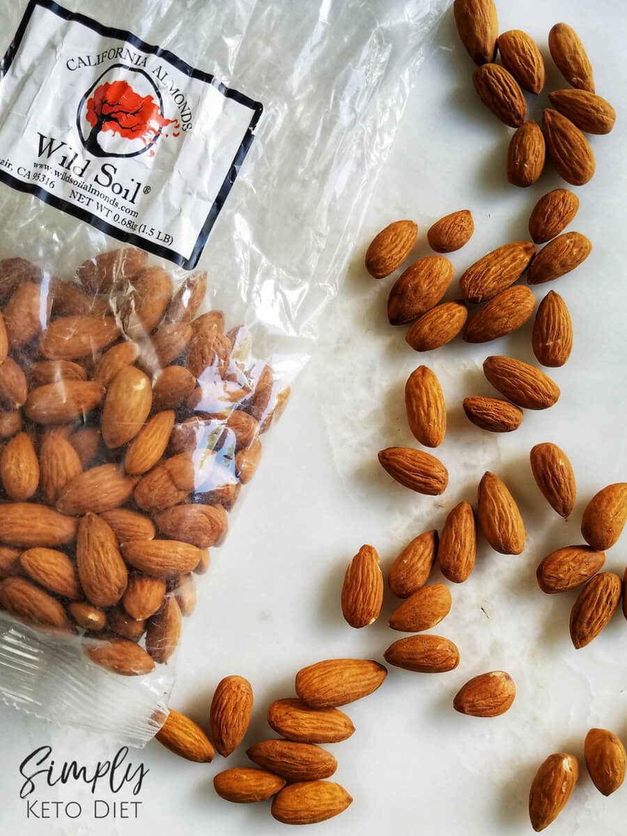 Wild Soil Almonds were used to make this Almond Milk Recipe for the Keto Diet