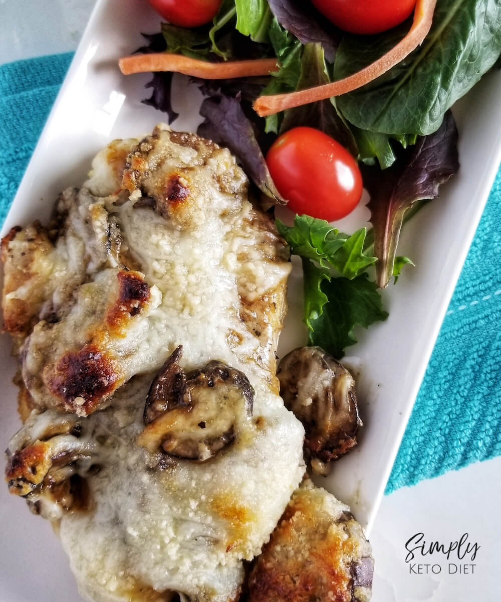 Chicken Lombardy Keto Low Carb Recipe