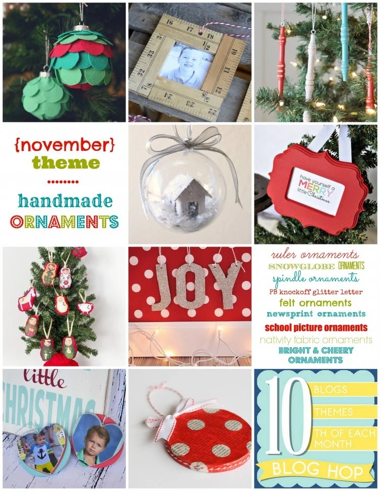 handmade ornaments | simplykierste.com