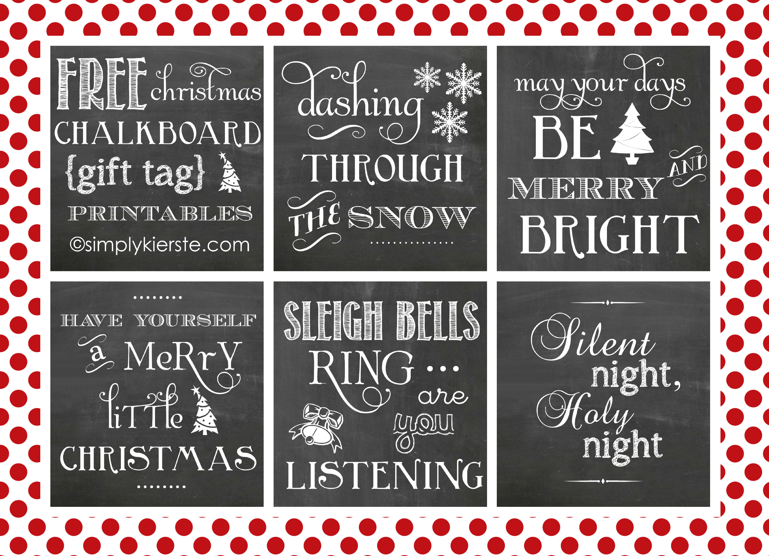 Chalkboard T Tag Printables From Simply Kierste
