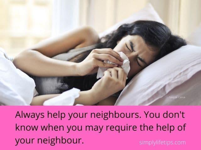 Help your neighbours