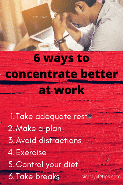 concentrate better