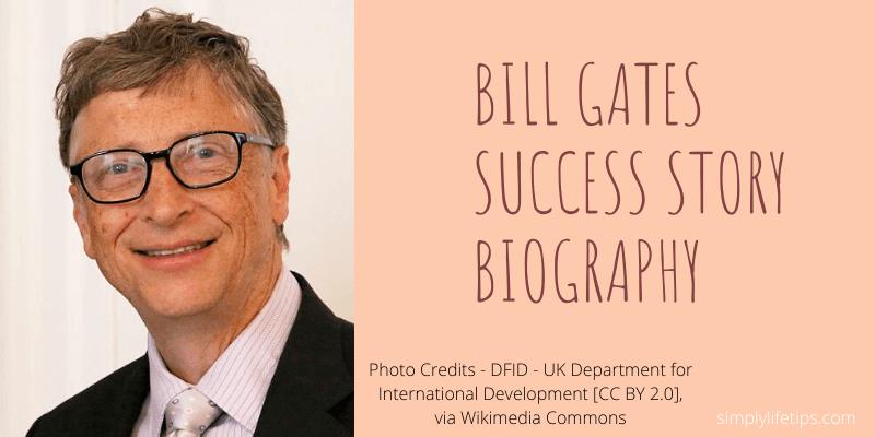 Bill Gates Microsoft Success Story