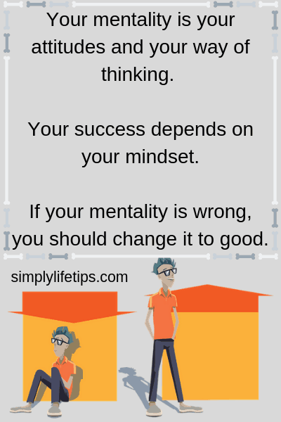 Positive mentality - successful life