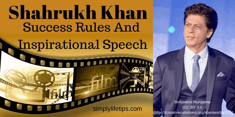 Shahrukh Khan Success Rules