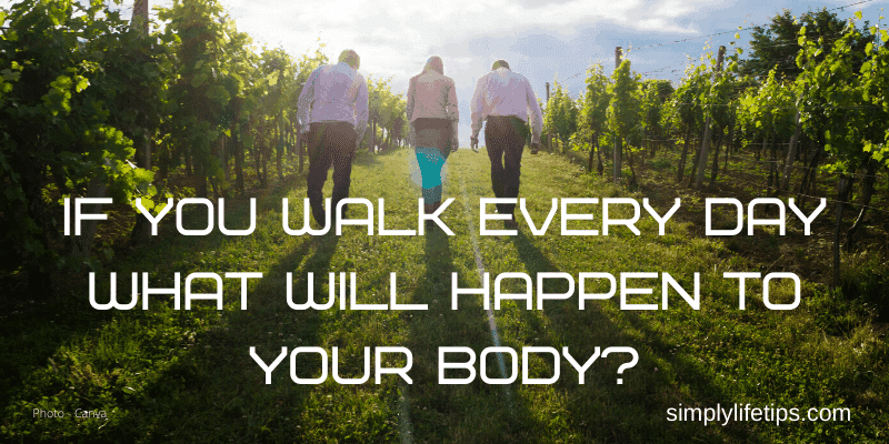 What Will Happen To Your Body If You Walk Every Day?