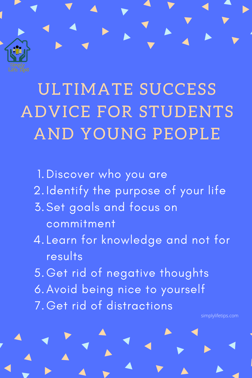 Success Advice For Students And Young People
