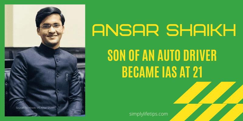 Ansar Shaikh IAS
