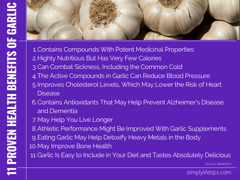 Health Benefits of Garlic Immunity Booster