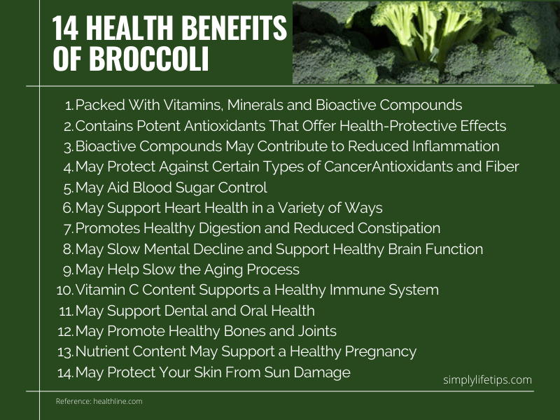 Health Benefits Of Broccoli Immunity Booster