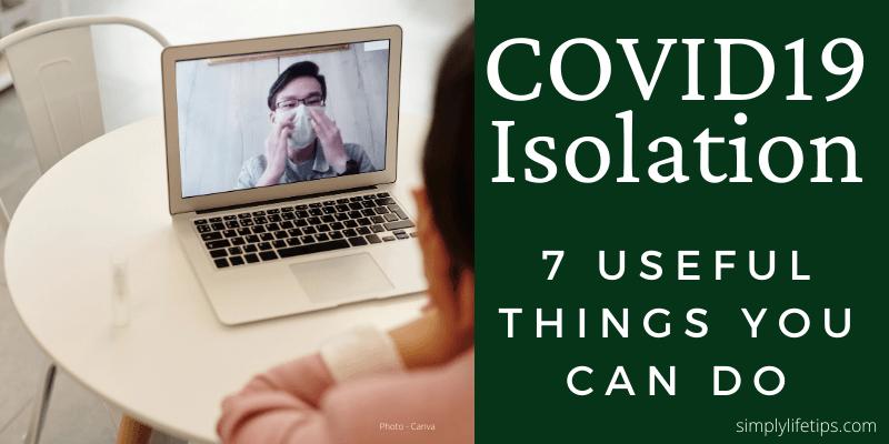 COVID19 Isolation meditation reading exercise
