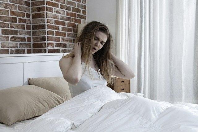 Inadequate sleep woman HSP