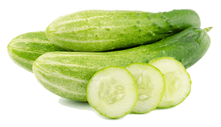 Cucumbers for healthy strong hair