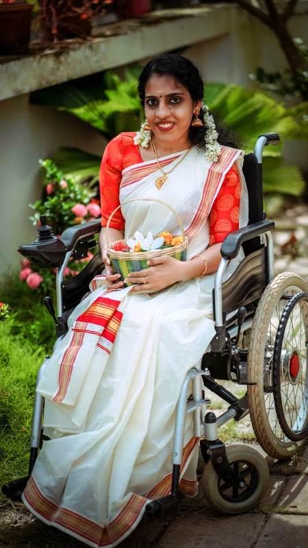 Remya Ganesh wheelchair model
