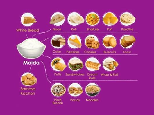 Maida foods