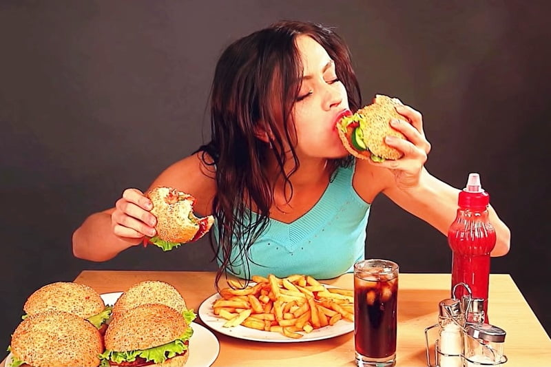 Over eating causes belly fat