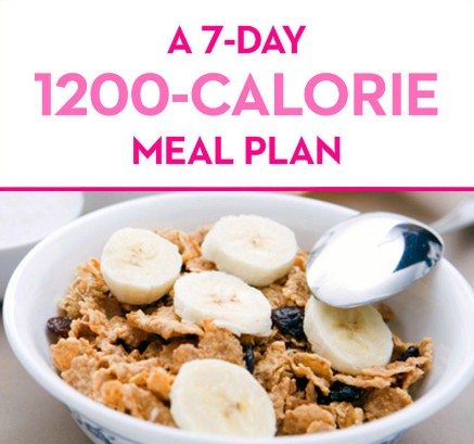 Simple Easy Calorie Meal Plan For Weight Loss In A Week Days - 1200 calorie meal plan for weight loss