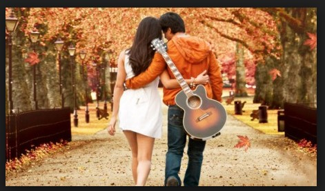 couples with guitar HD wall paper